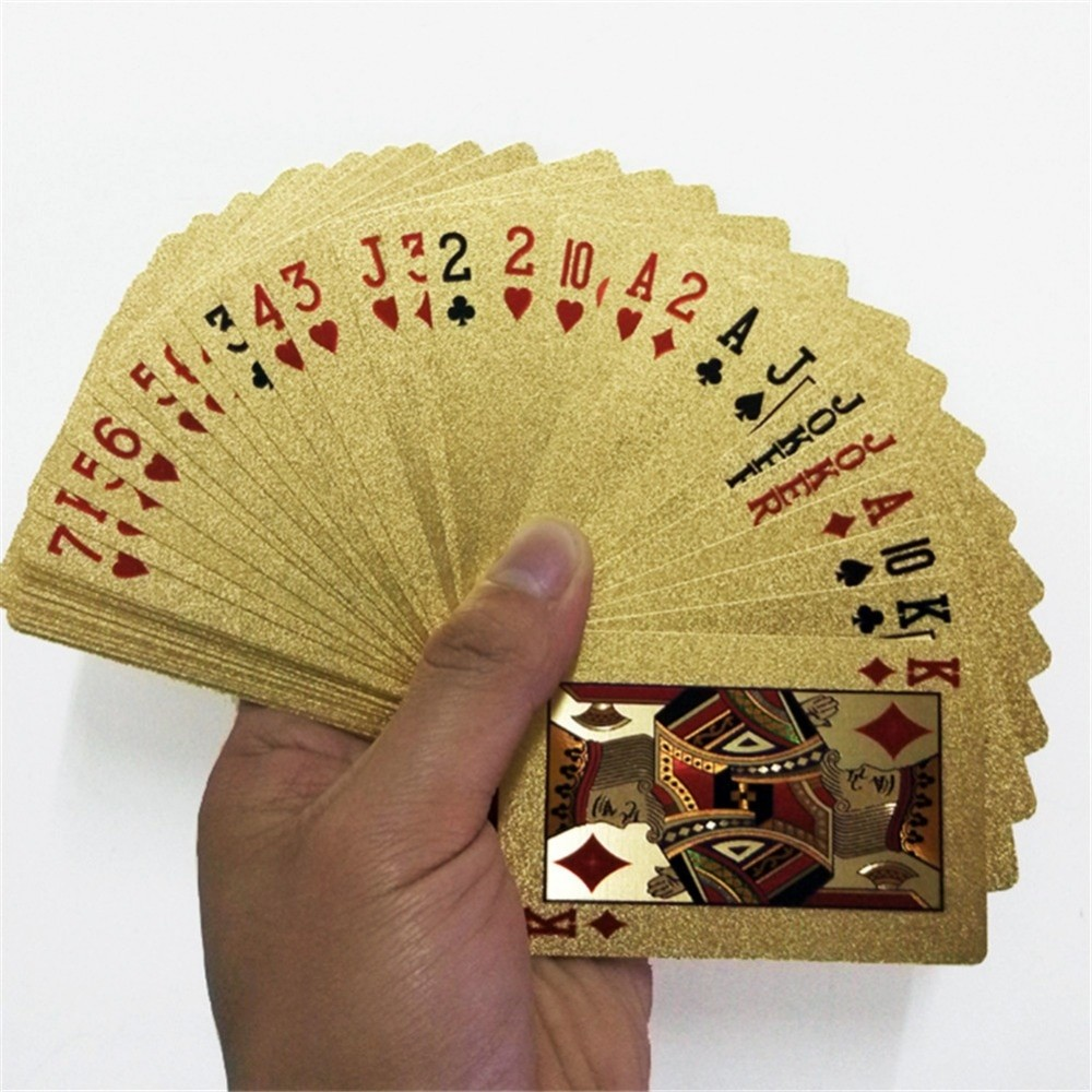 Gold Foil Playing Cards Deck