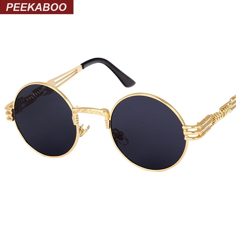 Vintage Gold Mirror Sunglasses