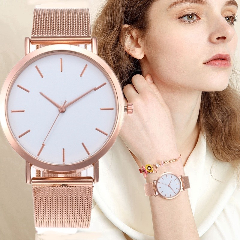 Women's Simple Gold Watch