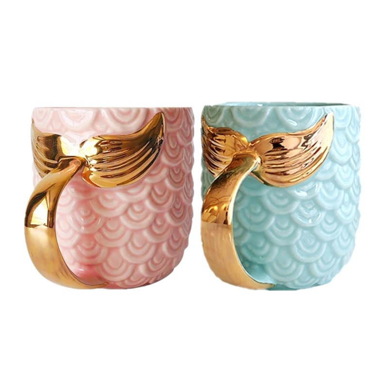 Mermaid Gold Mug