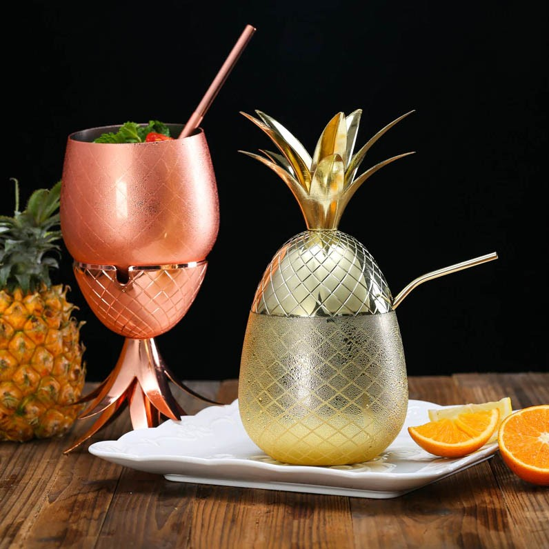 Gold Pineapple Cocktail...