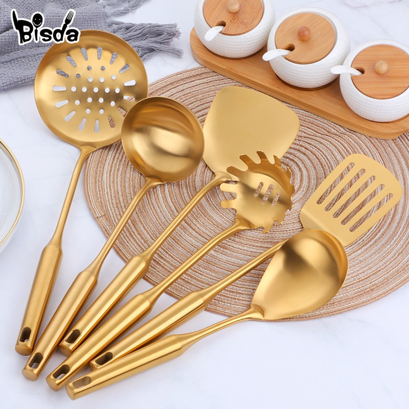 Gold Long Handle Kitchen...