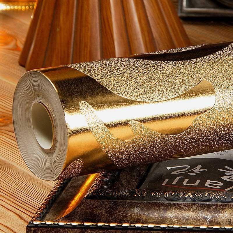 Luxury Damask Gold Foil...