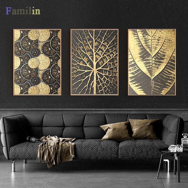 Gold Burst Circle Canvas...